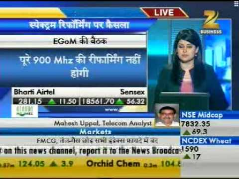 COAI News Zee Business On 01Nov12