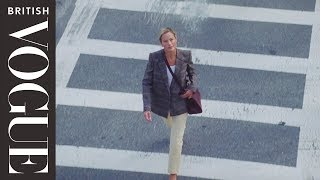 All-Day Style Secrets From Supermodel Carolyn Murphy | British Vogue & Givenchy