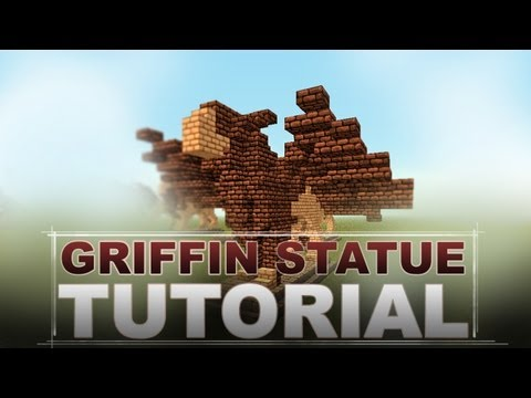 Minecraft Tutorial: Griffin Statue