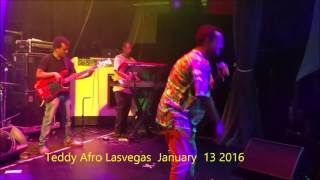 New song Teddy Afro Lasvegas January 13,2016