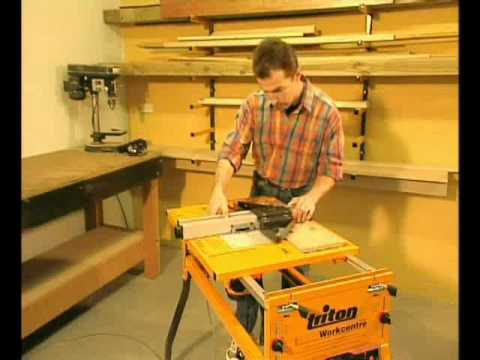 Triton Bja300 Biscuit Joiner For Triton Router Table Youtube