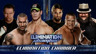 WWE 2K15 - All Star Elimination Chamber Match