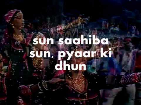 Sun Sahiba Sun-karaoke & Lyrics-ram Teri Ganga Maili video