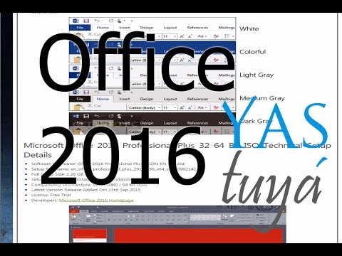 Instalar office 2016 - Montar una imágen ISO - YAStuyá