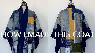 Boro + How I Made My Patchwork Coat