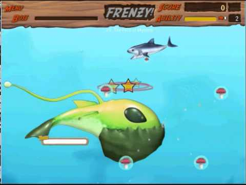 feeding frenzy 2 shipwreck showdown how to defeat the