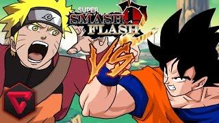 GOKU VS NARUTO: SUPER SMASH FLASH 2