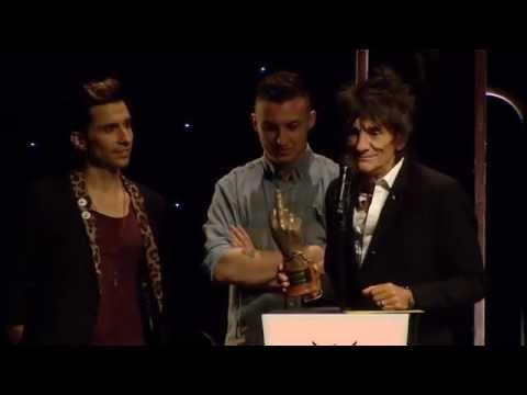 The Rolling Stones Win Best Live Band - NME Awards 2013