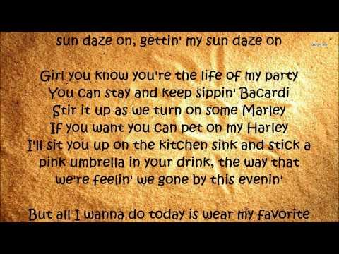 Sun Daze - Florida Georgia Line Lyrics