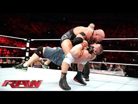 John Cena vs. Ryback: Raw, Nov. 10, 2014