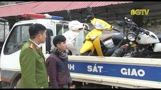 Một CSGT huyện Sơn Động bị người vi phạm đâm xe gây trọng thương