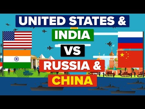 USA  India VS China  Russia - Who Would Win? Army  Military Comparison