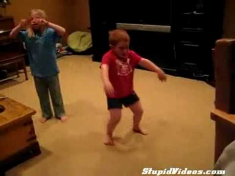 Funny Kids dancing