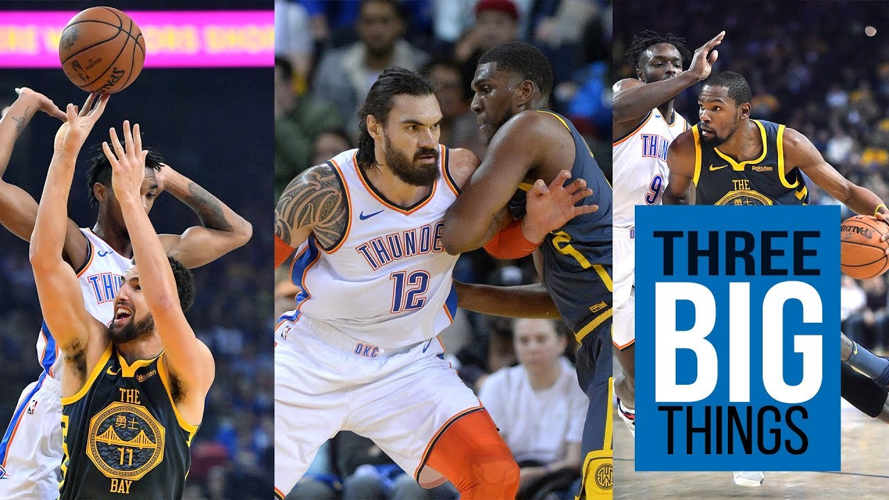 Three Big Things: Warriors struck down by OKC Thunder