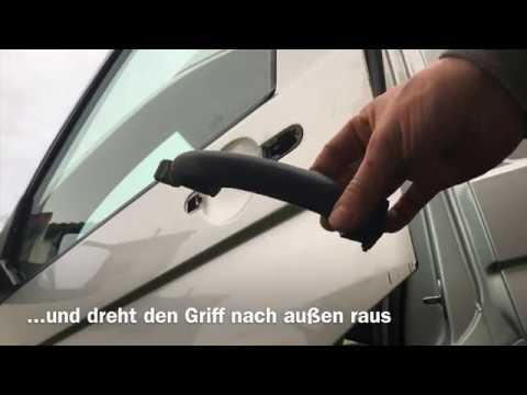 VW T5  VW T6 Türgriffe tauschen