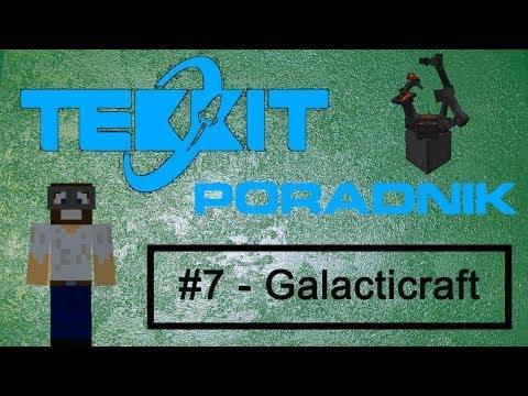 MINECRAFT Tekkit #7 - Przygotowania do lotu w kosmos ( Galacticraft ) [ PORADNIK 1.5.1 ]
