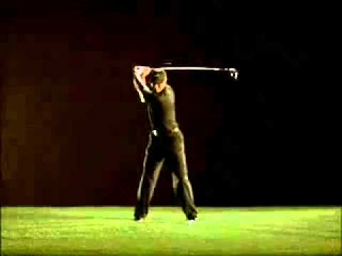 Tiger Woods golf swing in slow motion - dancosport