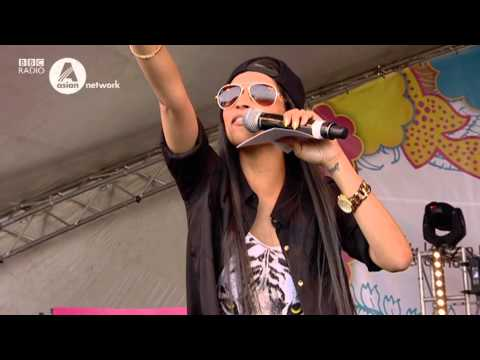 Funny girl IISuperwomanII doing her thing at London Mela 2013 for BBC Asian Network.