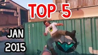 Top 5 Gaming Moments | January 2015 | Best Game Clips