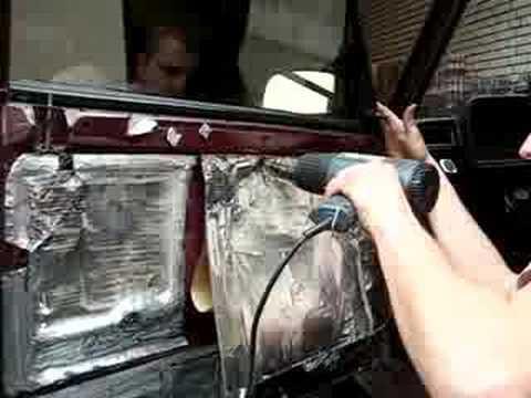 Шумоизоляция ваз 2107 своими руками видео