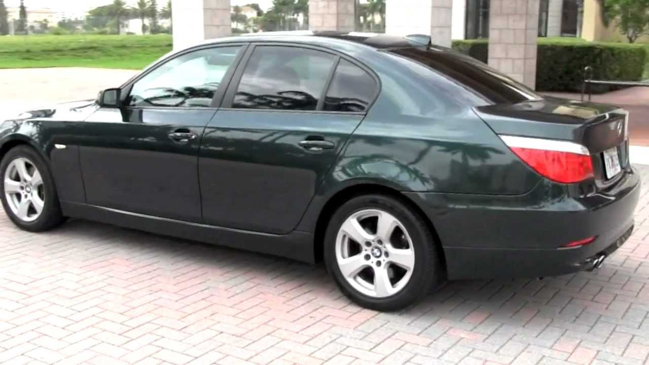 Bmw 535i 2008 >> 2008 BMW 535xi AWD Deep Green Metallic A2834 - YouTube