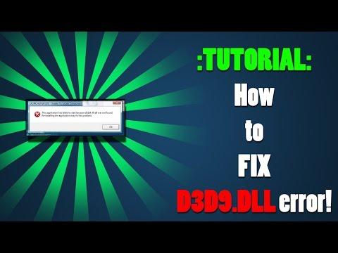 Как исправить ошибки в CgD3D9. dll