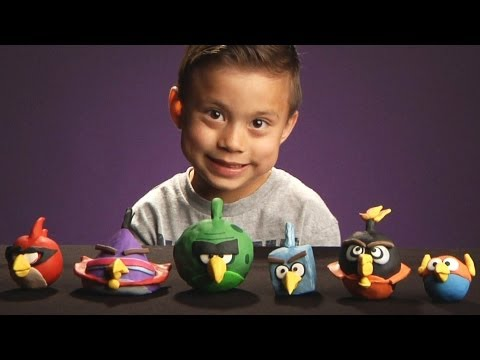 Angry Birds SPACE: Clay Models - Sculpey