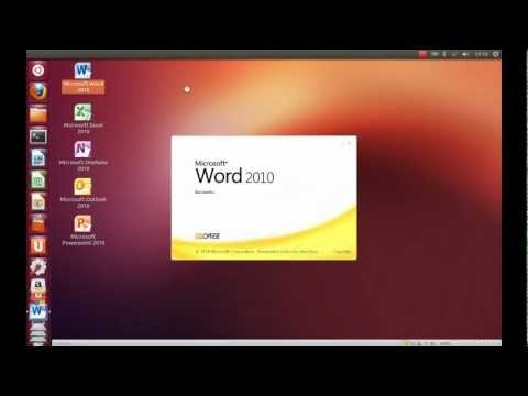 Instalar MS Office 2010 en Ubuntu 12.10