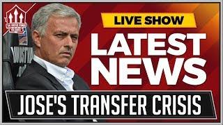 MOURINHO's MANCHESTER UNITED Transfer WARNING! MAN UTD News