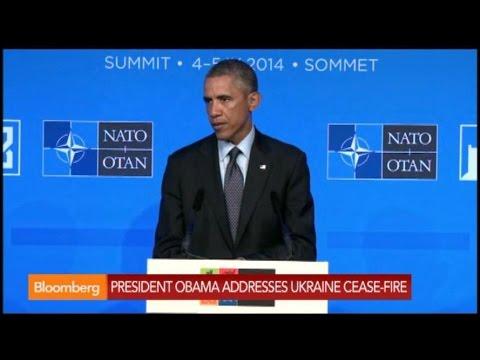 Obama: We Are Hopeful on Ukraine Cease-Fire