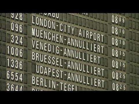 Germanwings cancels flights as pilots go on strike