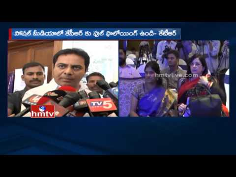 Minister KTR Launches Boost Your Business with Facebook at Taj Krishna, Hyderabad   HMTV