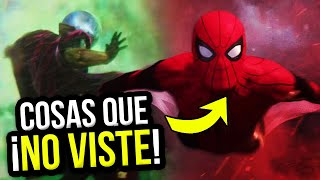 Cosas que NO VISTE del TRAILER de SPIDERMAN FAR FROM HOME