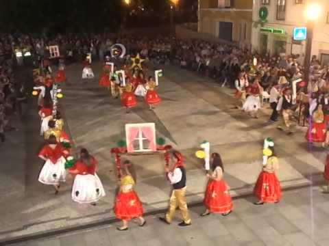 Marcha do Agrupamento de escolas de Ferreira do Z�zere 2014