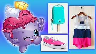 Shopkins Spring Break Fashion Lookbook | Ice Cream Queen, Jingle Purse, and More!