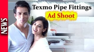 Latest Bollywood News - Sonu Sood And Sonal Chauhan Come Together For An Ad - Bollywood Gossip 2016