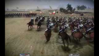 Young Winston - British cavalry charge at Omdurman (Napoleon Total War remake)