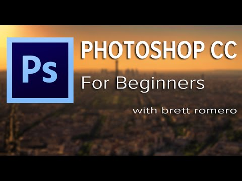 Photoshop CC Tutorial For Beginners: How To Animate Falling Snow - Anyone Can Do it!