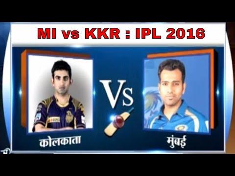 Mumbai Indians vs KKR, IPL 2016: Clash of Rohit Sharma and Gautam Gambhir