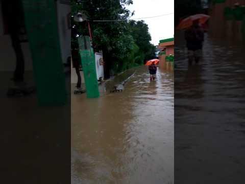 Kondisi banjir di perumnas 1 bekasi