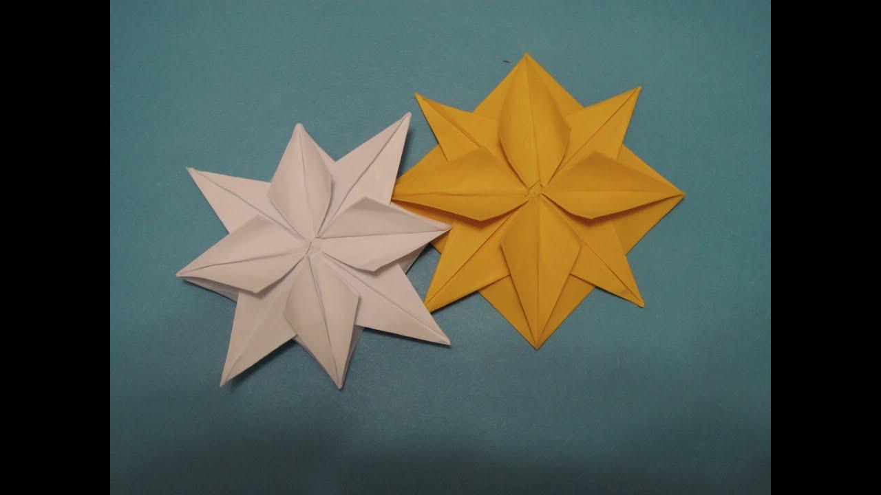 Большие звезды из бумаги своими руками схемы7