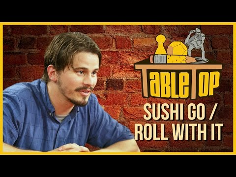 Sushi Go & Roll For It: TABLETOP with Jason Ritter. Jennifer Hale. & John Ross Bowie