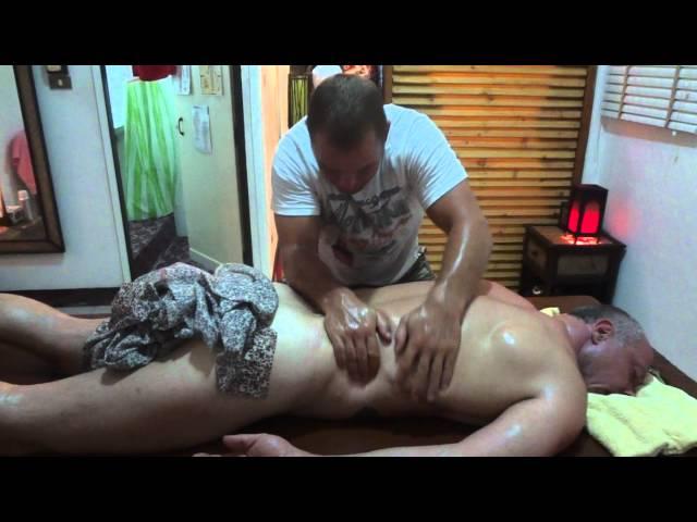 energy line oil massage