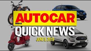 Toyota Glanza price, 2020 Scorpio Interior, Safer Honda City and more | Quick News | Autocar India