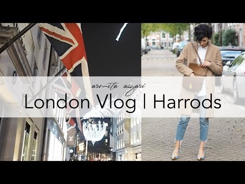 London Vlog 2017 | Harrods | Dolce & Gabbana Supermarket | Liberty | Shopping & Food