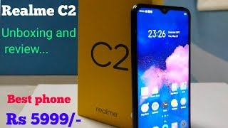 Realme C2 Unboxing and Full Review in Hindi - Best Budget Phone With Dual Camera @5999/-