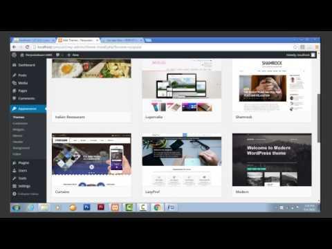Teknik Membuat website dan langkah-langkah atau cara mendesain website dengan wordpress