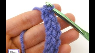 Episode 193: How to Crochet the Foundation Single Crochet Stitch (fsc)