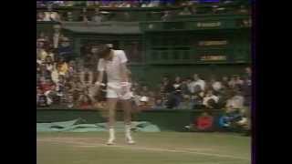 Heinz Günthardt - Jimmy Connors_Wimbledon 1980
