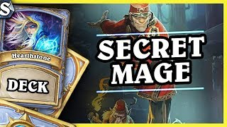 SECRET MAGE - Hearthstone Deck Std (KotFT)